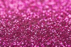 Roze giltter bokeh abstracte achtergrond Royalty-vrije Stock Foto's