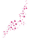 Roze glashart Stock Foto's