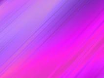 Roze golvende krommen vector illustratie