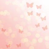 Roze gradiënt abstracte achtergrond Stock Fotografie