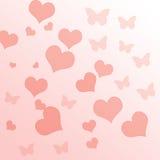 Roze gradiëntachtergrond Stock Foto's