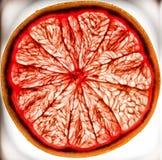 Roze graepfruit Stock Afbeeldingen