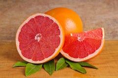 Roze grapefruit Royalty-vrije Stock Afbeelding