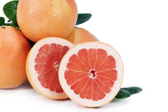 Roze Grapefruit stock fotografie