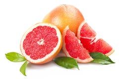 Roze grapefruit stock afbeeldingen
