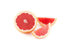 Roze Grapefruits Stock Foto