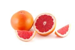 Roze Grapefruits Royalty-vrije Stock Foto's