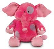Roze grappige olifant stock foto's