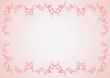 Roze grens Royalty-vrije Stock Fotografie