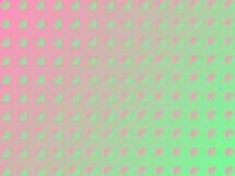 Roze-groene cirkelachtergrond Stock Foto's