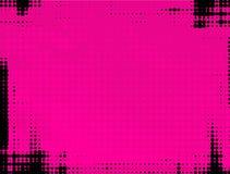 Roze grungeachtergrond Royalty-vrije Stock Foto