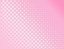 Roze halftone achtergrond Royalty-vrije Stock Afbeelding