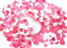 Roze harten Royalty-vrije Stock Fotografie