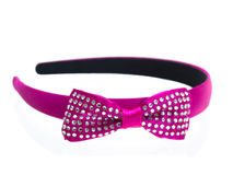 Roze hoofdband royalty-vrije stock afbeelding