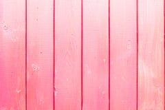 Roze houten textuur stock fotografie