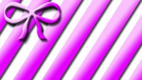 Roze HUIDIGE VLINDERDAS Royalty-vrije Stock Afbeeldingen