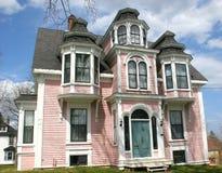 Roze Huis Royalty-vrije Stock Afbeelding