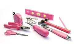 Roze hulpmiddelen Stock Fotografie