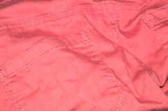 Roze jeans Royalty-vrije Stock Foto's
