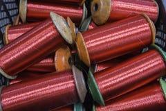 Roze kabel Stock Afbeelding