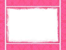 Roze kader Stock Foto