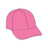 Roze kappen Stock Foto's