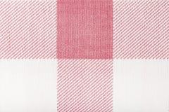Roze klassieke geruit royalty-vrije stock afbeelding