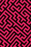 Roze labyrintachtergrond stock illustratie