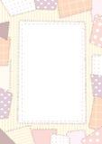 Roze lapwerk als achtergrond Royalty-vrije Stock Foto's