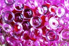 Roze lenzen stock foto's