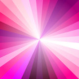 Roze Licht Ray Abstract Background stock illustratie