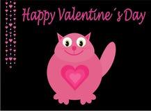 Roze liefdekat stock illustratie