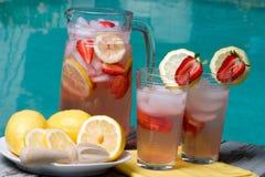 Roze limonade Royalty-vrije Stock Foto's