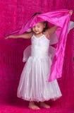 Roze linnen Royalty-vrije Stock Afbeeldingen