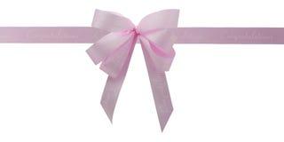 Roze lint. Royalty-vrije Stock Fotografie