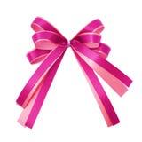Roze lint Stock Foto