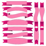 Roze lint Stock Afbeelding