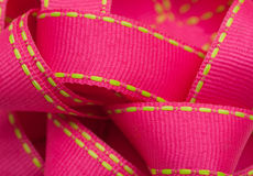 Roze lint Royalty-vrije Stock Foto's