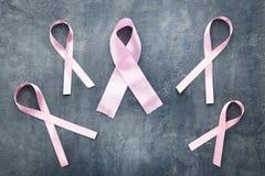 Roze linten Stock Fotografie