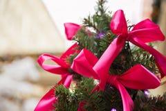 Roze linten Royalty-vrije Stock Foto