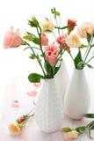 Roze lisianthus Royalty-vrije Stock Foto's