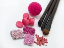 Roze maak omhoog Royalty-vrije Stock Afbeeldingen