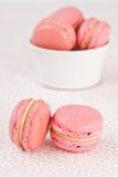 Roze macarons Royalty-vrije Stock Fotografie