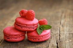 Roze macarons Royalty-vrije Stock Foto
