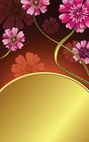 Roze madeliefje royalty-vrije illustratie