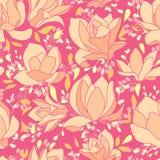 Roze magnolia's Stock Foto