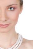 Roze make-up Royalty-vrije Stock Fotografie