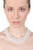 Roze make-up Stock Foto's