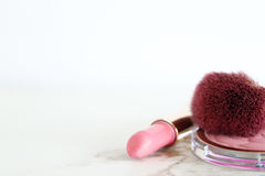 Roze make-up Royalty-vrije Stock Foto