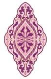 Roze medaillon voor ontwerp Stock Foto